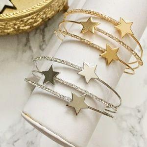 Stars & Crystals Cuff